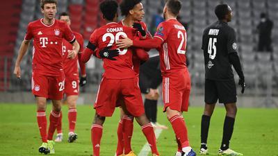 Der FC Bayern machte gegen Salzburg den vorzeitigen Achtelfinal-Einzug perfekt.