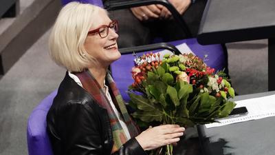 Dagmar Ziegler (SPD) ist neue Bundestagsvizepräsidentin.