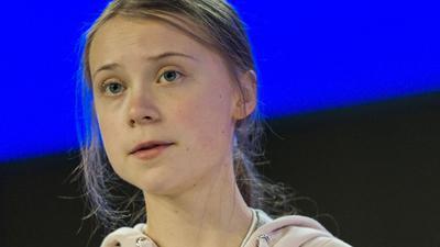 """Greta Thunberg hat für einen Tag bei der schwedischen Zeitung """"Dagens Nyheter"""" angeheuert."""