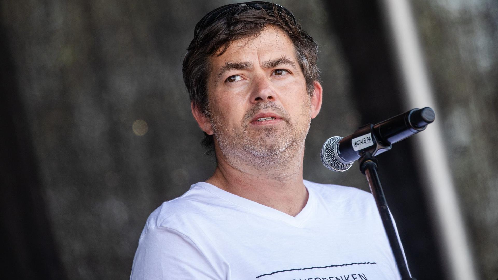 """Michael Ballweg, Initiator der Initiative """"Querdenken""""."""