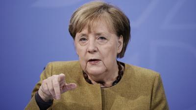 Kanzlerin Angela Merkel (CDU)hat dem abgewählten US-Präsidenten Donald Trump eine Mitschuld am Sturm von dessen Anhängern auf das Kapitol in Washington gegeben.