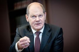 Hat bereits das Kreditvolumen für das laufende Jahr angepasst: Bundesfinanziminister Olaf Scholz.