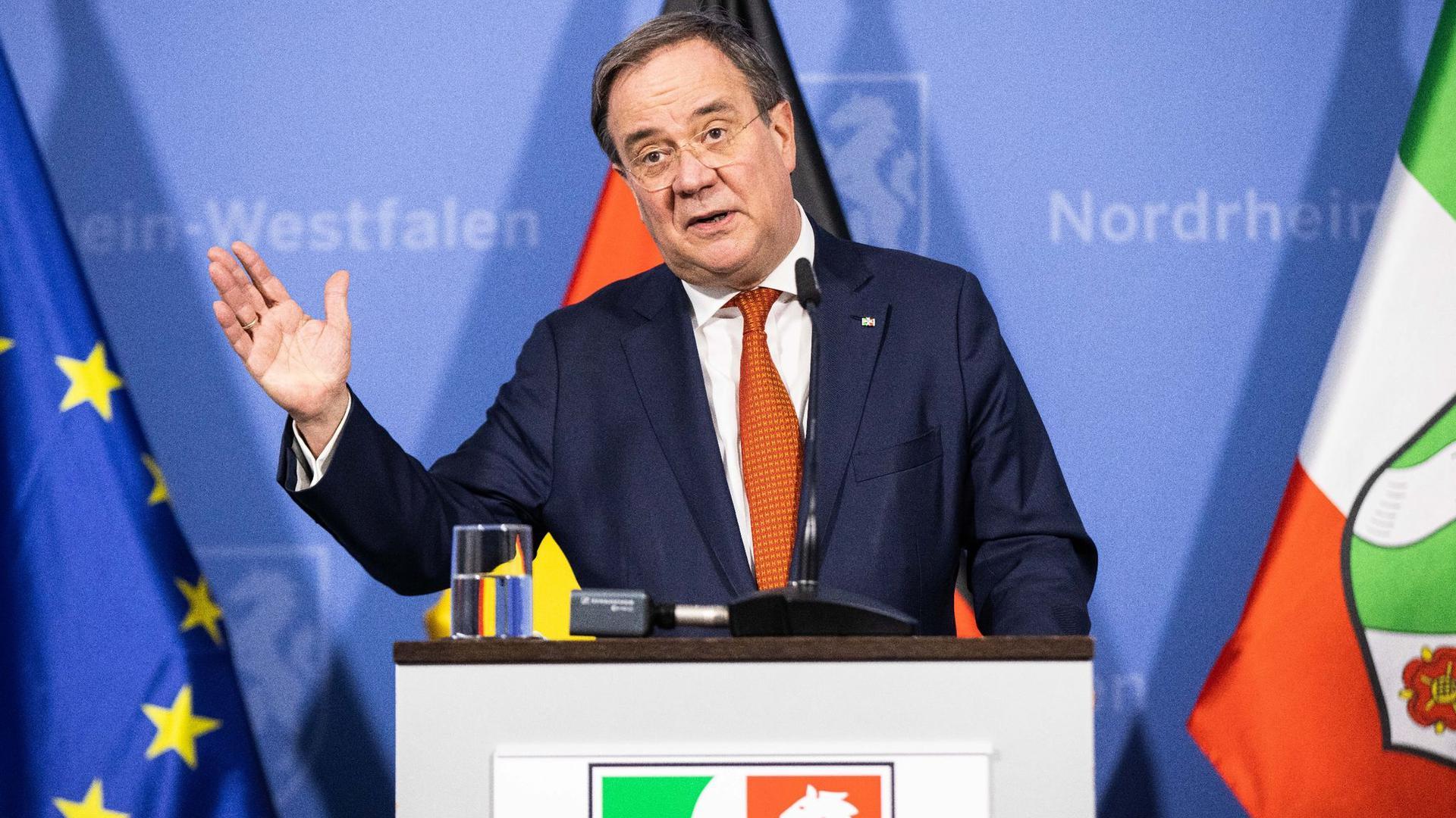 NRW-Ministerpräsident Armin Laschet wurde als CDU-Chef bestätigt.