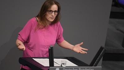 """Will den """"Klima-Schwung"""" aus Washington auch in den Bundestag tragen: Grünen-Politikerin Lisa Badum."""