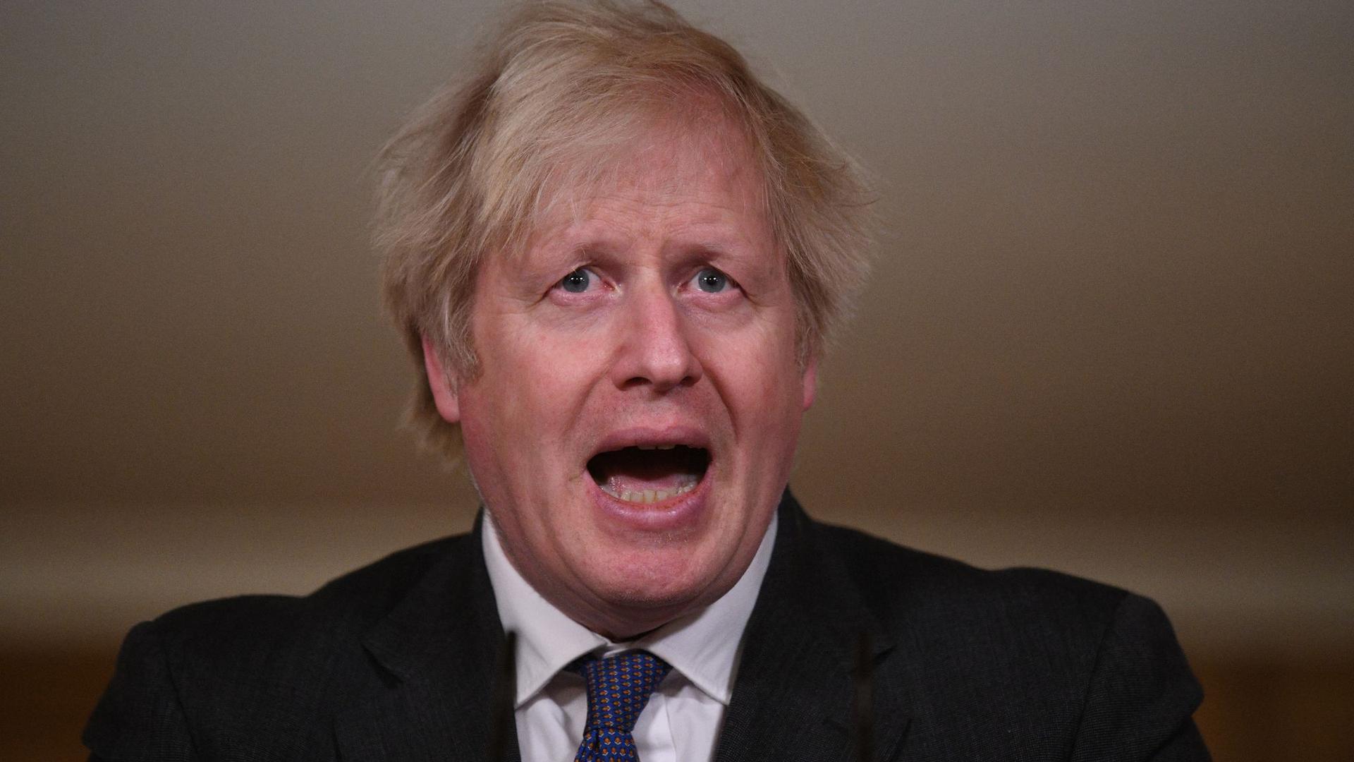 Sorgt mit seinen Aussagen für Stirnrunzeln: Boris Johnson.