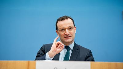 Wenig überraschend sieht CDU-Politiker Jens Spahn seinen Parteikollegen Armin Laschet bei der K-Frage vorn.