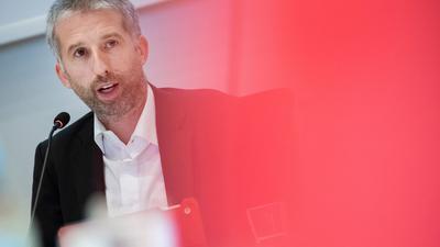 Tübingens Oberbürgermeister Boris Palmer (Grüne) spricht bei einer Sitzung.