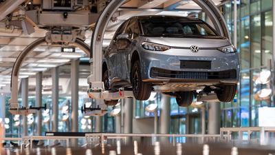 VW hat das Jahr 2020 trotz Corona mit einem Milliardengewinn abgeschlossen.