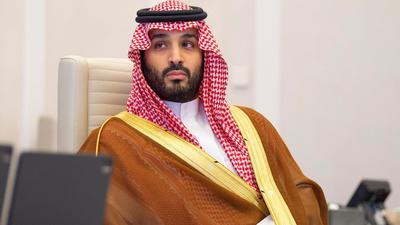 Nach US-Geheimdienstinformationen genehmigte er die Khashoggi-Operation: der saudi-arabische Kronprinz Mohammed bin Salman (hier beim G20-Gipfel im vergangenen Jahr).