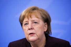 """""""Es ist ein wichtiger Tag"""": Bundeskanzlerin Angela Merkel."""