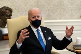 US-Präsident Joe Biden ist mit der Corona-Politik mehrerer Bundesstaaten nicht einverstanden.