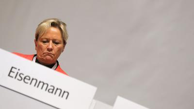 Susanne Eisenmann will sich zum Ende der Legislaturperiode aus der Politik zurückziehen.