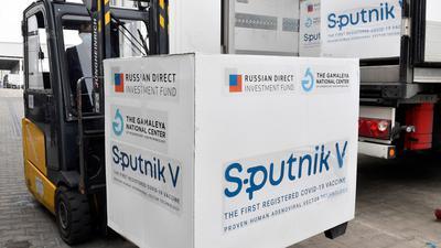 Mehrere Länder-Regierungschefs sprchen sich für eine rasche Zulassung des russischen Vakzins Sputnik V aus.