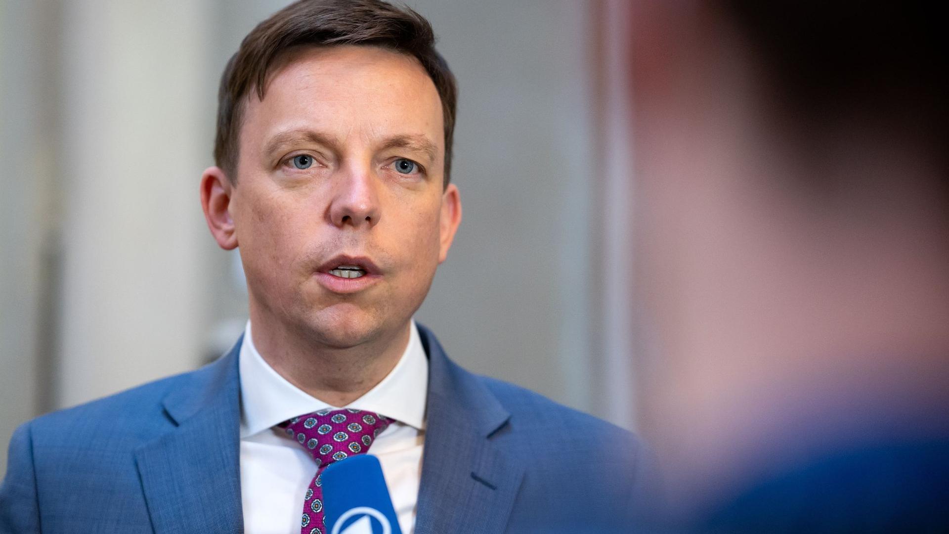Tobias Hans, Ministerpräsident des Saarlands.