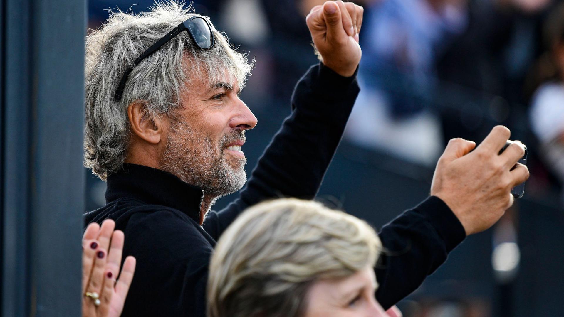 Der Milliardär Petr Kellner während des Pferdespringens CSIO Grand Prix in Prag. Kellner ist im Alter von 56 Jahren bei einem Hubschrauberabsturz ums Leben gekommen.