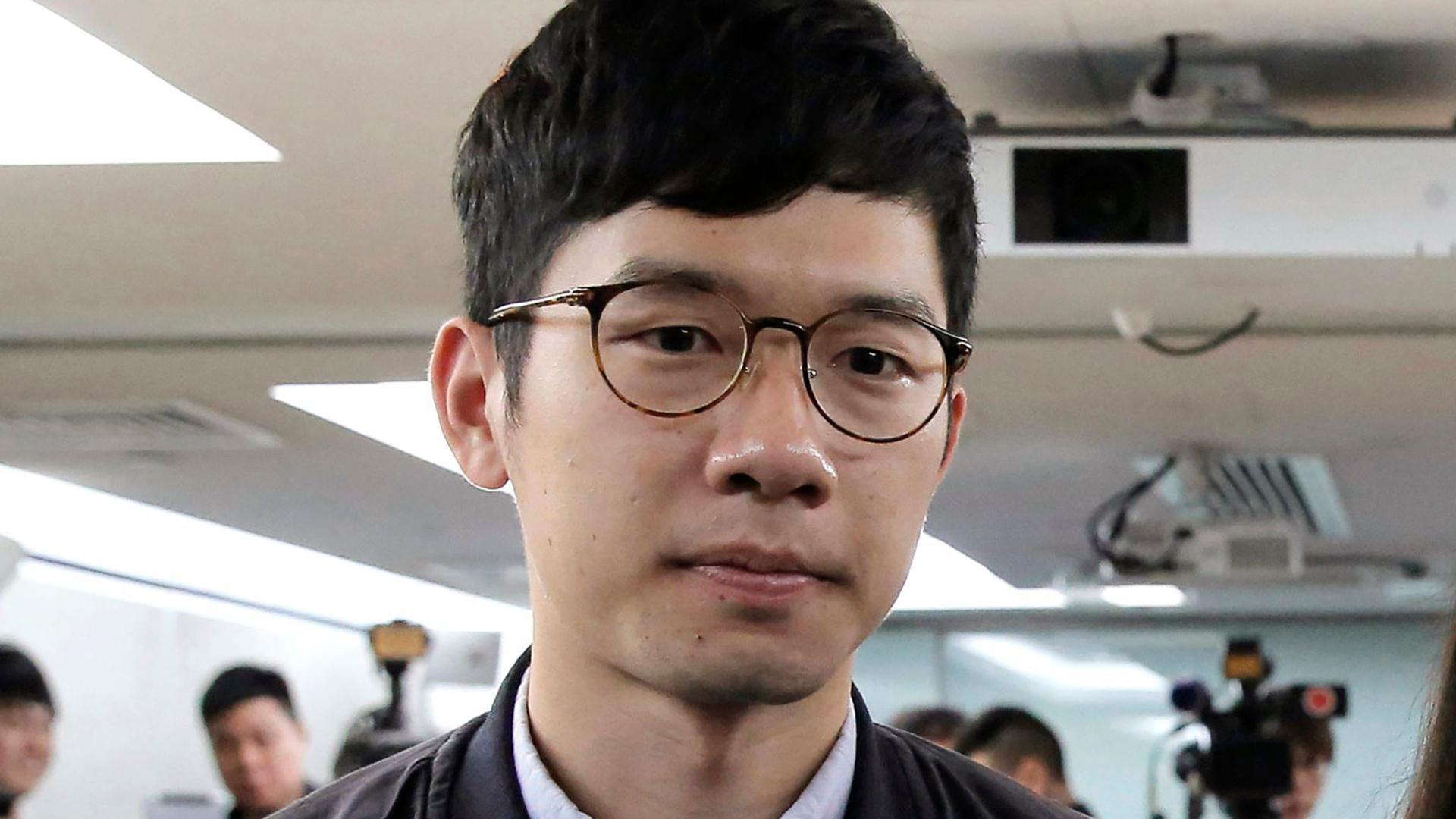 Der pro-demokratische Aktivist Nathan Law erhält Asyl in Großbritannien.