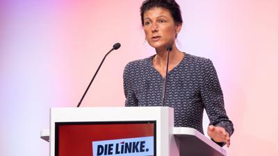 Sahra Wagenknecht steht wohl erneut an der Spitze der NRW-Landesliste der Linkspartei zur Bundestagswahl.