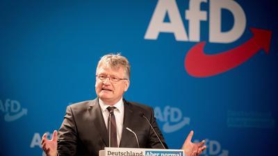 AfD-Parteichef Jörg Meuthen könnte im November nicht erneut für den Vorsitz kandidieren dürfen.