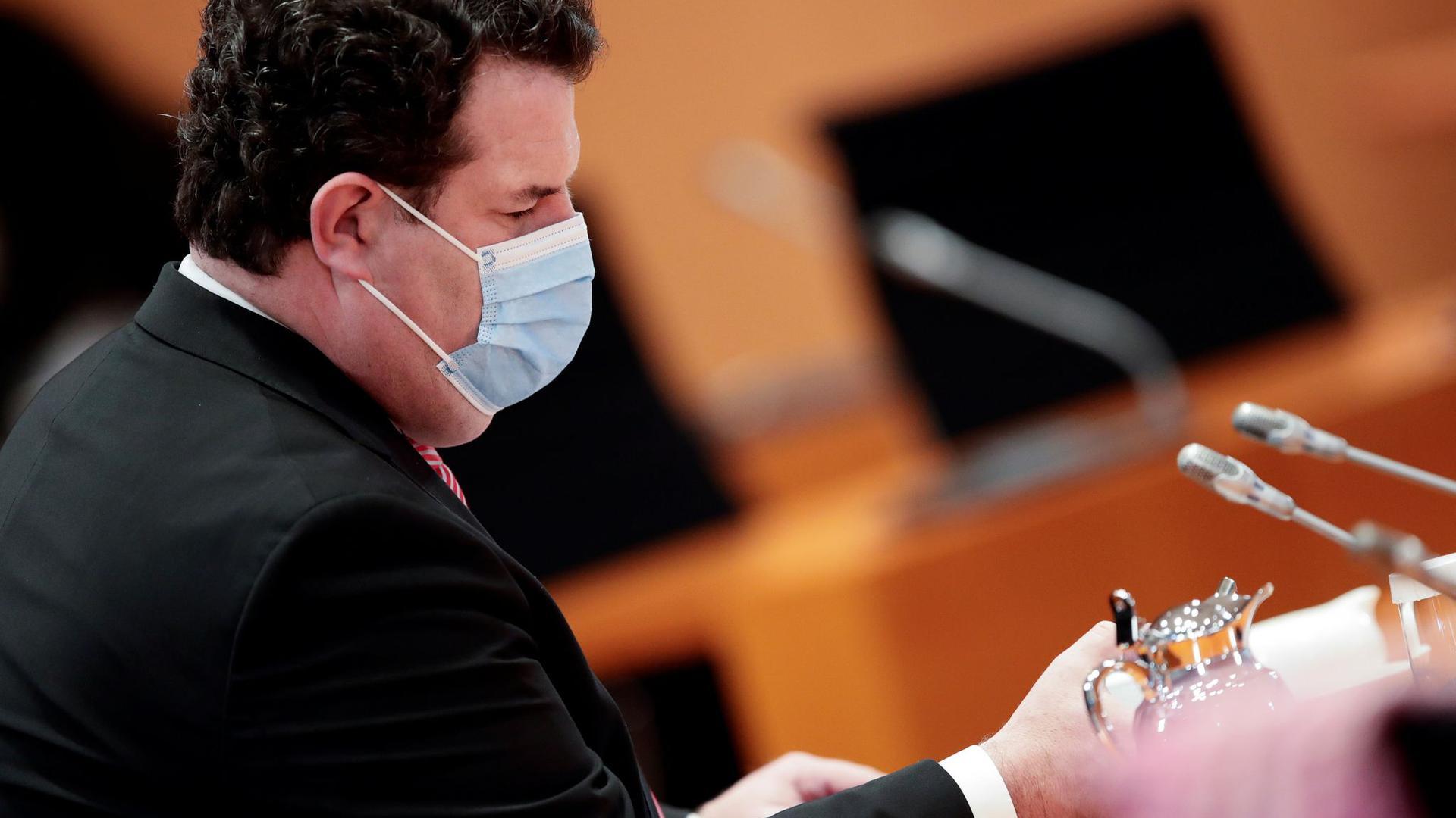 Arbeitsminister Hubertus Heil plant eine Corona-Testpflicht für Betriebe in ganz Deutschland.