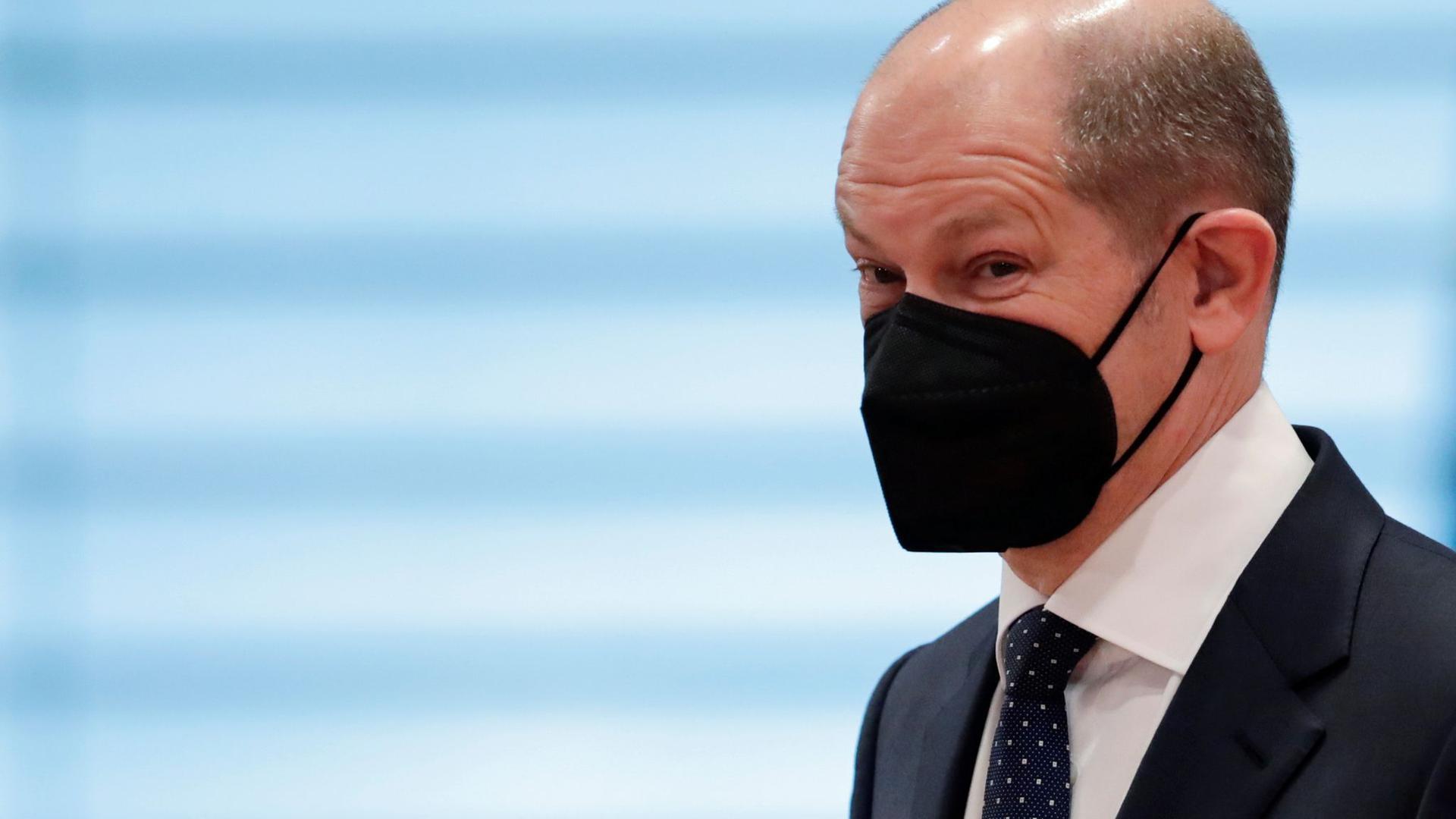 Olaf Scholz gibt sich zuversichtlich, dass der Gesetzesantrag im Kabinett beschlossen wird.