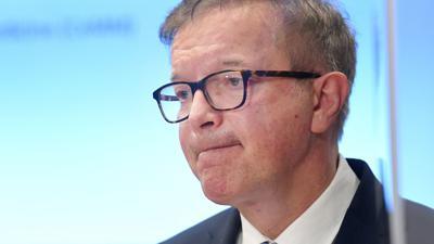 Der österreichische Gesundheitsminister Rudolf Anschober während einer Pressekonferenz inWien.