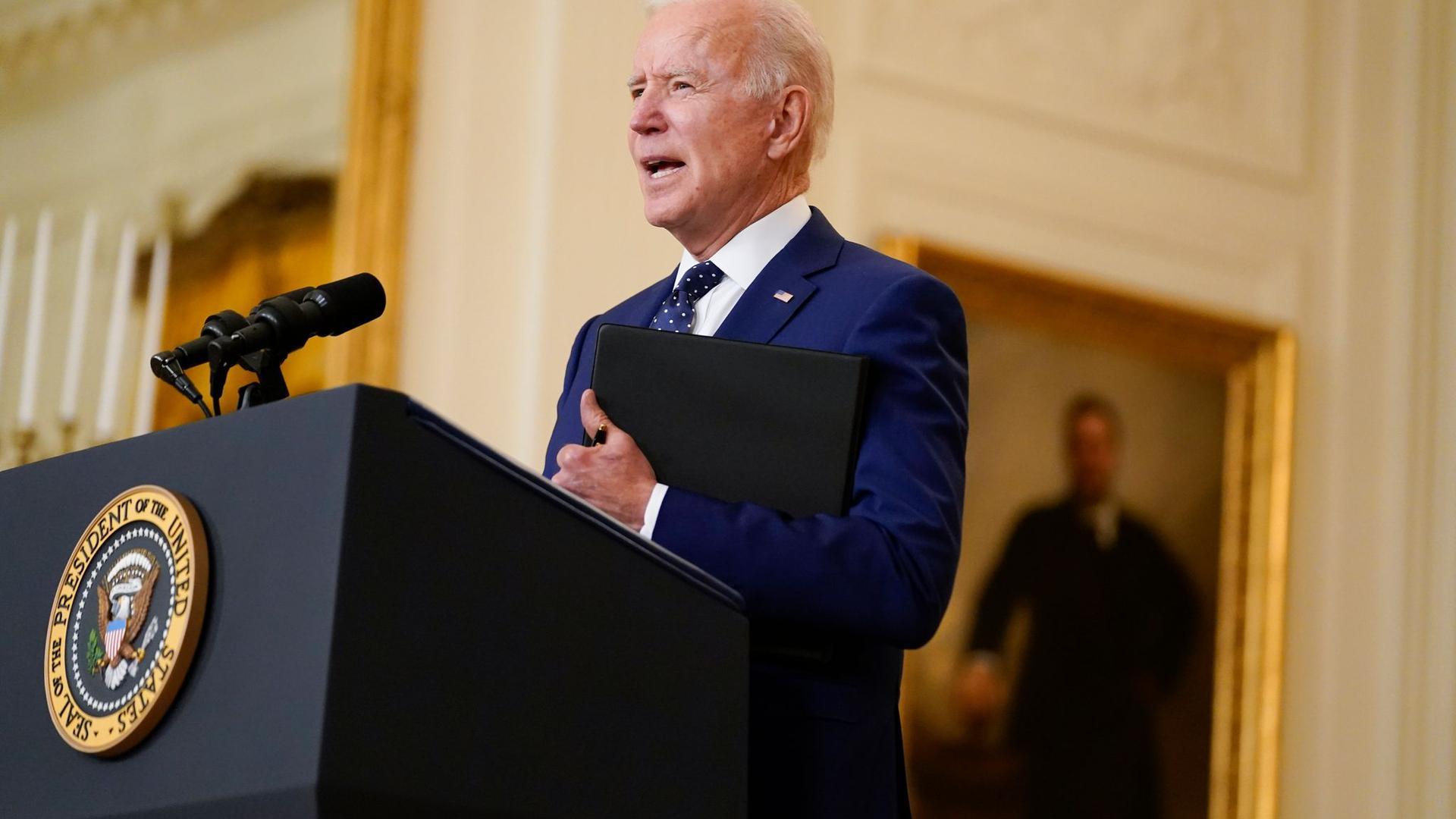 US-Präsident Joe Biden ist erstmals in seiner Amtszeit zum Golfspielen gegangen.