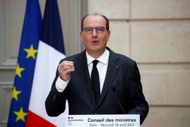 """Ministerpräsident Jean Castex: """"Die islamistische Bedrohung bleibt sehr hoch."""""""