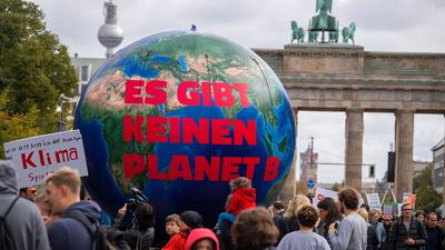 Eine Demonstration von Fridays for Future im September 2019 in Berlin.