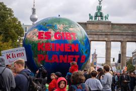 Eine Demonstration von Fridays for Future imSeptember 2019 in Berlin.