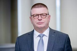 """""""Zunehmende Radikalisierung einiger Akteure festgestellt"""": Thomas Haldenwang, Präsident des Bundesamtes für Verfassungsschutz."""