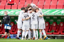 Durch den Sieg gegen Bremen hat der FC Augsburg den Klassenerhalt geschafft.