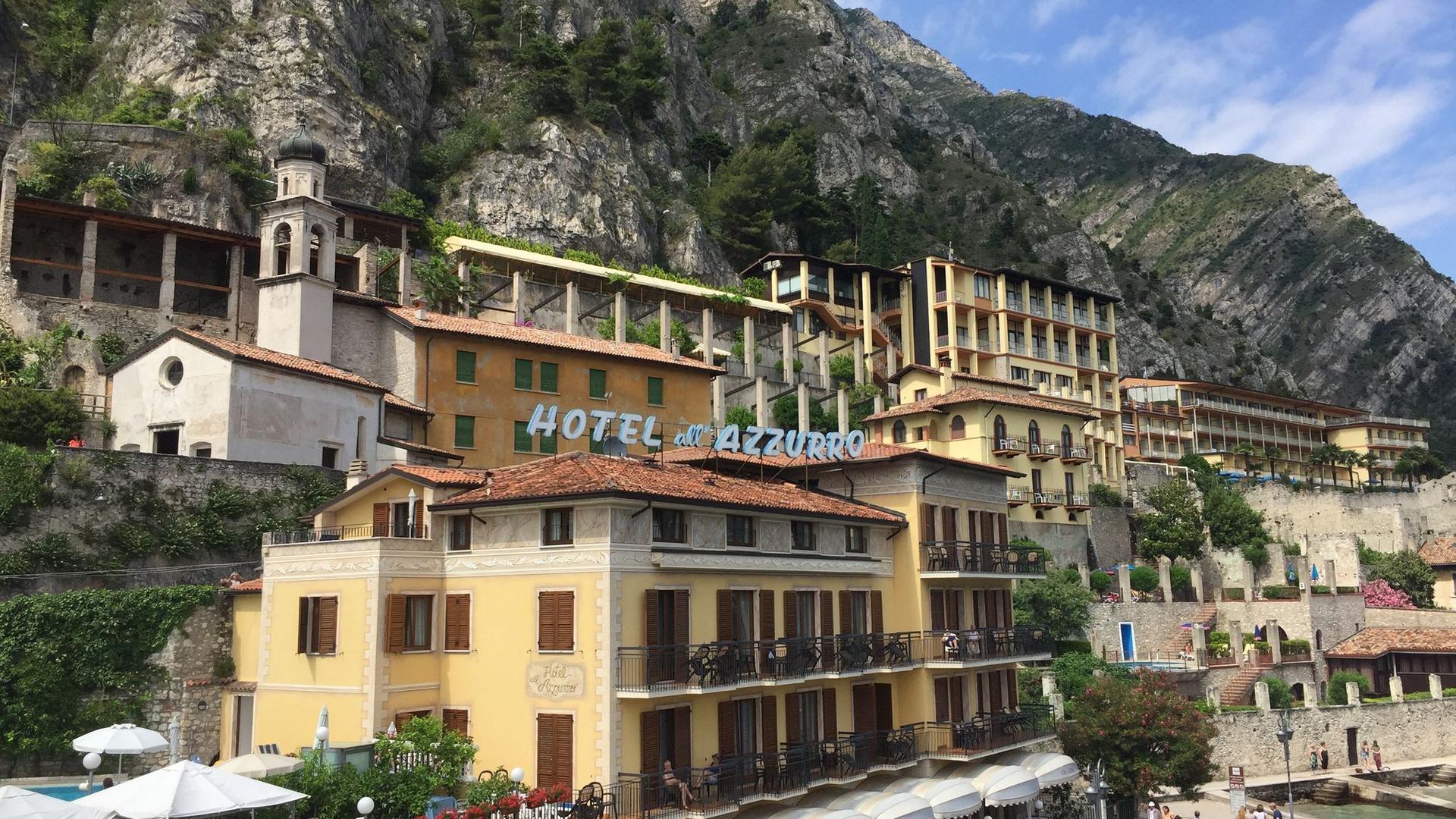 Limone sul Garda ist vor allem bei ausländischen Touristen beliebt.