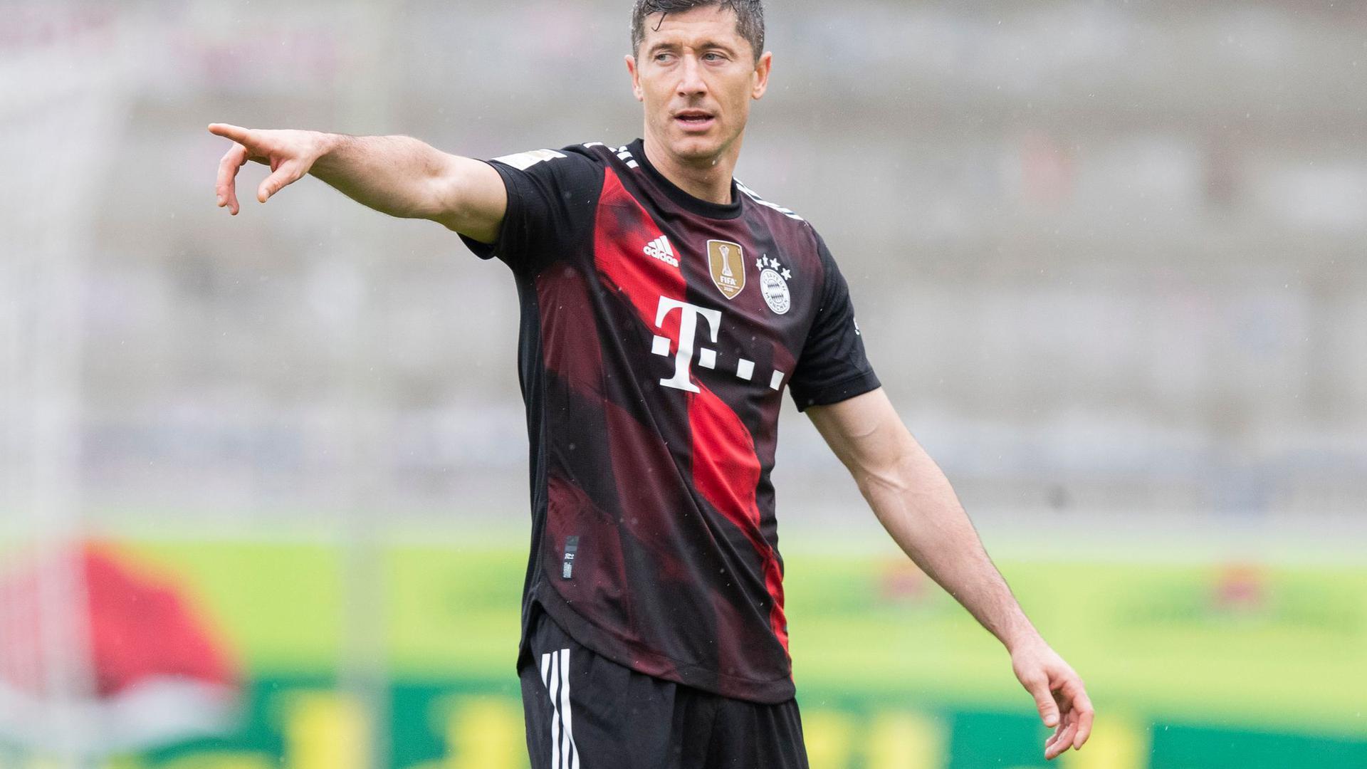 Möchte zum alleinigen Bundesliga-Torrekordhalter werden: Bayerns Star-Stürmer Robert Lewandowski.