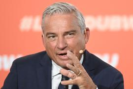 Thomas Strobl, der Landesvorsitzende der CDU in Baden-Württemberg, spicht.