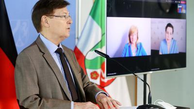 Der nordrhein-westfälische Justizminister Peter Biesenbach (CDU) ist für schnellere Verfahren.