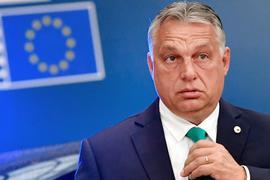 Ungarns Ministerpräsident Viktor Orban während des EU-Gipfel im Juli 2020 in Brüssel.