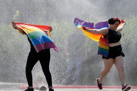 Der Brief der Staats- und Regierungschefs erwähnt als Anlass den International Lesbian Gay Bisexual and Transgender Pride Day am 28. Juni.