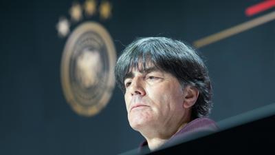 Trat einen Tag nach dem EM-Aus gegen England das letzte Mal als Bundestrainer vor die Presse: Joachim Löw.