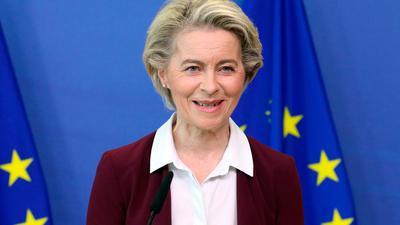 Ursula von der Leyen, Präsidentin der EU-Kommission.