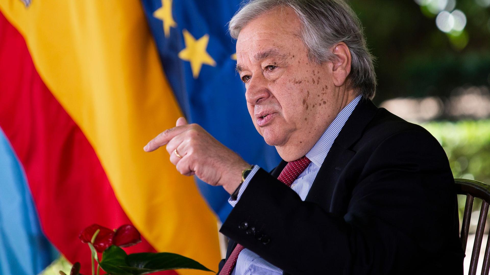 UN-Generalsekretär Antonio Guterres will den Mali-Einsatz der Vereinten Nationen ausweiten.