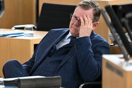 Thüringens Ministerpräsident Bodo Ramelow muss sich einem konstruktiven Misstrauensvotum im Landtag stellen.