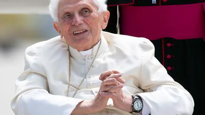 Der emeritierte Papst Benedikt XVI. im Juni vergangenen Jahres.