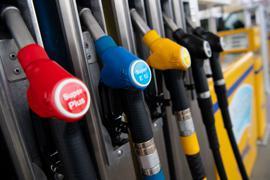 Zapfsäule an einer Tankstelle. Seit einigen Monaten steigen die Energiepreise überdurchschnittlich an.