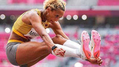 Malaika Mihambo hat Olympia-Gold im Weitsprung gewonnen.