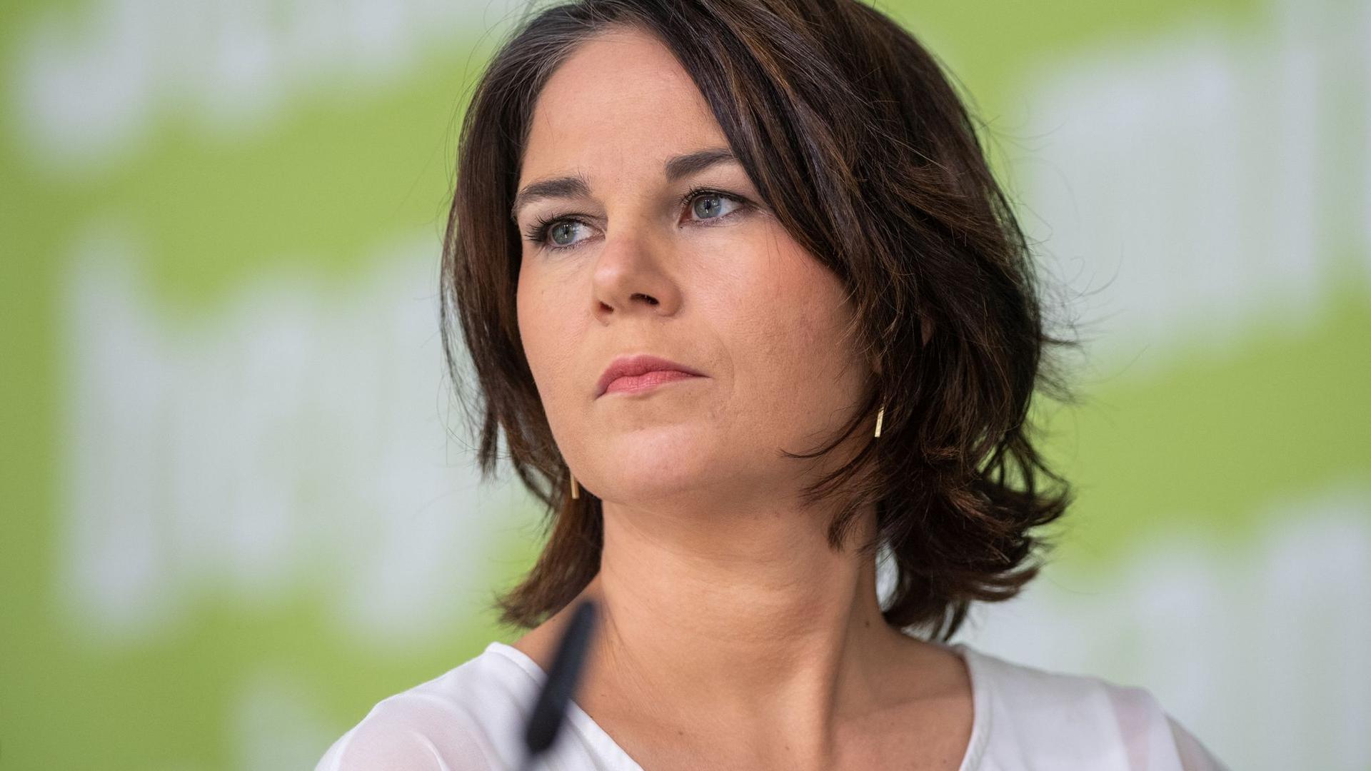 Annalena Baerbock ist Kanzlerkandidatin der Grünen.
