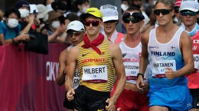 Jonathan Hilbert ging in Sapporo über die 50 Kilometer zu Olympia-Silber.
