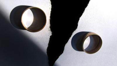 Die Zahl der Ehescheidungen nahm im Vergleich zu 2019 um 3,5 Prozent ab.