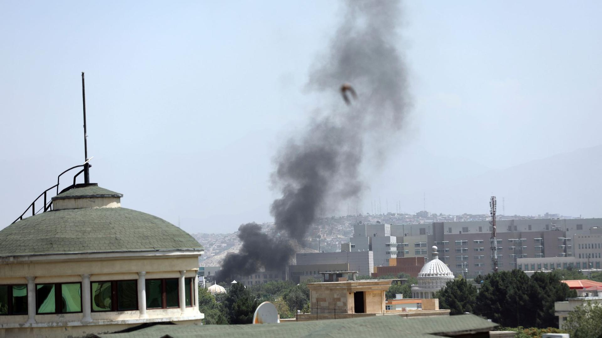 Die Innenstadt von Kabul ist mittlerweile in der Hand der Taliban.