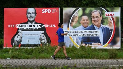 Union und SPD liegen erstmals seit April 2017 in der Wählergunst wieder gleichauf.