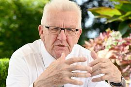 Winfried Kretschmann (Bündnis 90/Die Grünen), Ministerpräsident von Baden-Württemberg, sieht den Bund in der Pflicht.
